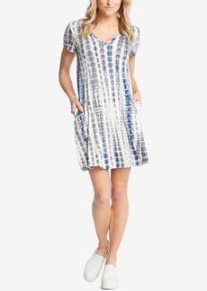 Karen Kane Quinn Tie-Dyed A-Line Dress