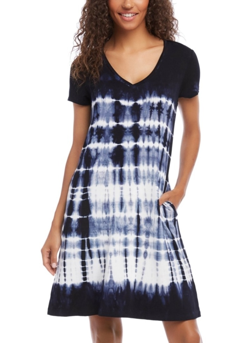 Karen Kane Quinn Tie-Dyed Pocket Dress
