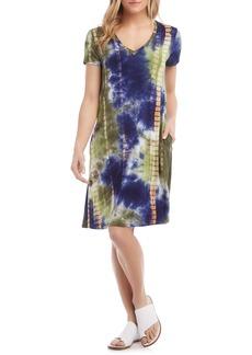Karen Kane Quinn V-Neck T-Shirt Dress