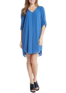 Karen Kane Roll Sleeve Dress