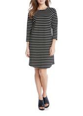 KAREN KANE Roundneck Shirttail Dress