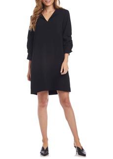 Karen Kane Ruched Sleeve Shift Dress