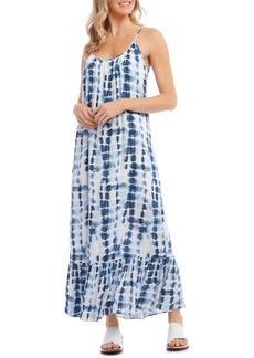 Karen Kane Ruffle Hem Maxi Dress