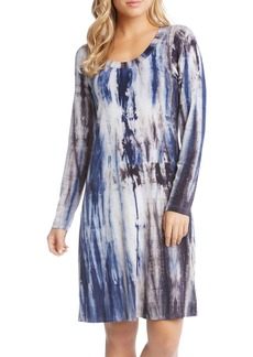 Karen Kane Scooped Neck A-Line Dress