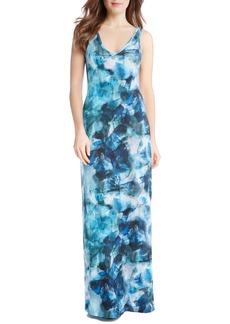 Karen Kane Sea Glass Maxi Dress (Regular & Petite)