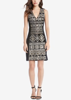 Karen Kane Sequin-Embellished Sheath Dress