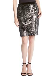 Karen Kane Sequin Pencil Skirt