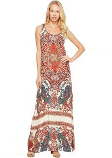 Karen Kane Side Slit Maxi Dress