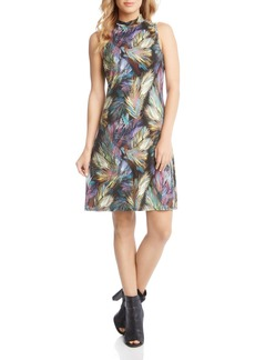 Karen Kane Sleeveless Printed Dress