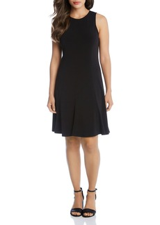 Karen Kane Sleeveless Seamed Dress