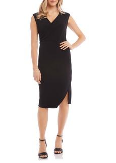 Karen Kane Sophia Drape Dress