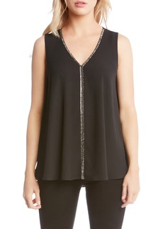 Karen Kane Sparkle Swing Top