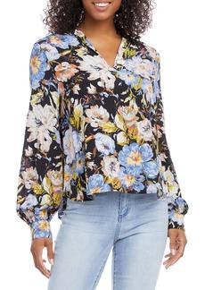 Karen Kane Spread Collar Top