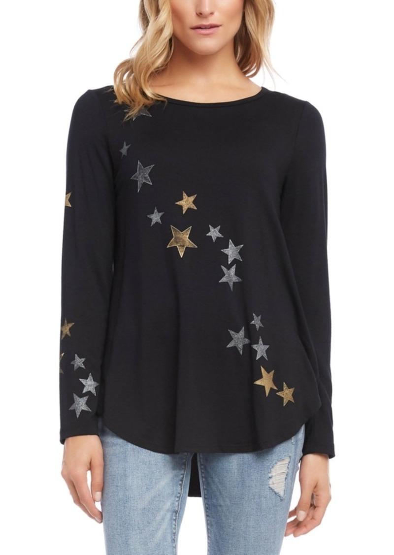 Karen Kane Star-Print T-Shirt
