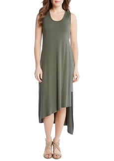 Karen Kane Stevie Asymmetrical Hem Tank Dress
