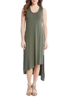 Karen Kane Stevie Asymmetrical Hem Tank Dress