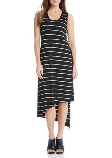 Karen Kane Stevie Asymmetrical Stripe Tank Dress