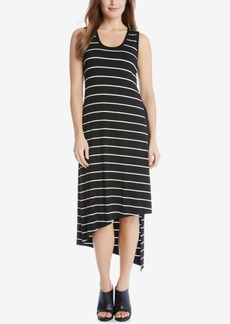 Karen Kane Stevie Asymmetrical Striped Tank Dress