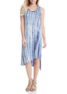 Karen Kane Stevie Print Jersey Asymmetrical Tank Dress
