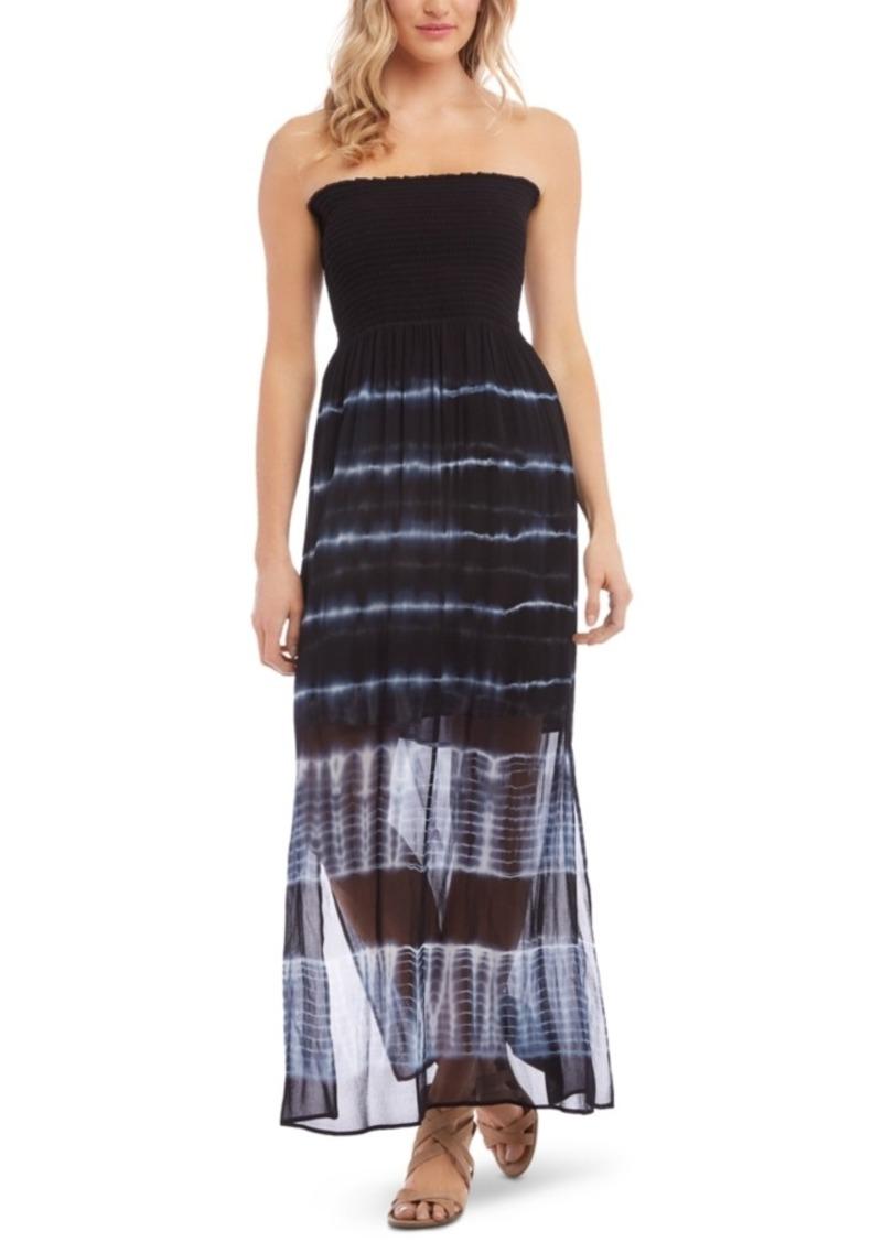 Karen Kane Strapless Tie-Dyed Dress