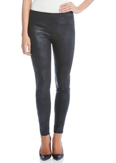 Karen Kane Stretch Faux Leather Skinny Pants