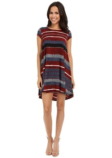 Karen Kane Stripe Maggie Trapeze Dress