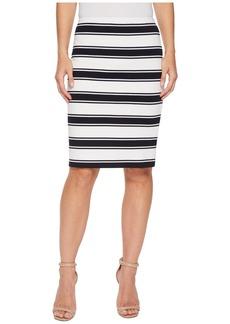 Karen Kane Stripe Pencil Skirt