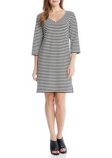 Karen Kane Stripe Shift Dress