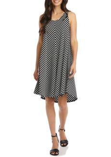 Karen Kane Stripe Swing Dress