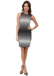 Karen Kane Striped Bodycon Dress