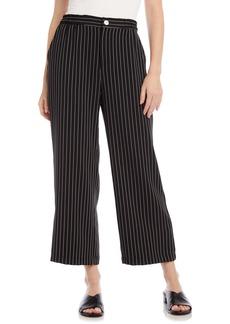 Karen Kane Striped Crop Pants