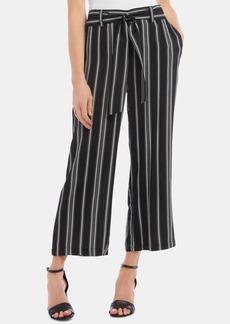Karen Kane Striped Cropped Pull-On Pants