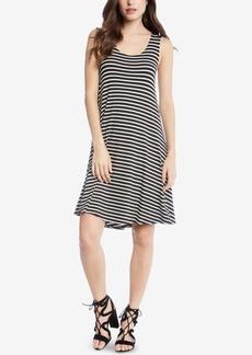 Karen Kane Striped High-Low Tank Dress