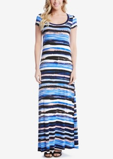 Karen Kane Striped Maxi Dress