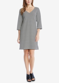 Karen Kane Striped Shift Dress