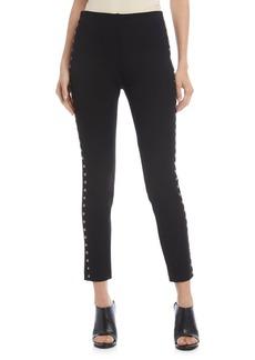 Karen Kane Studded Cropped Piper Pants