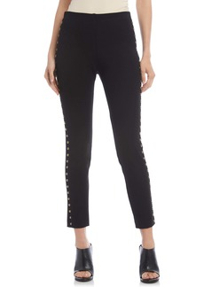 Karen Kane Studded Piper Skinny Ankle Pants