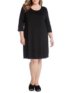Karen Kane T-Shirt Dress (Plus Size)
