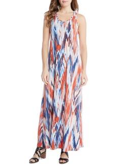 Karen Kane Tasha Print Jersey Maxi Dress