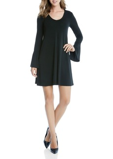Karen Kane Taylor Bell Sleeve Knit Dress