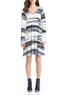 Karen Kane Taylor Brushstrokes Dress