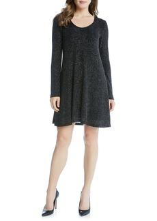 Karen Kane Taylor Diamond Dust A-Line Dress