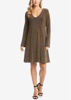 Karen Kane Taylor Metallic Shift Dress