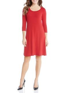 Karen Kane Three Quarter Sleeve Dress