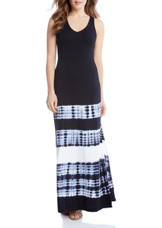 Karen Kane Tie Dye Print Maxi Dress - 100% Exclusive