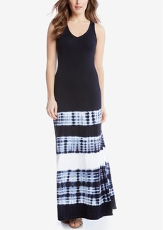 Karen Kane Tie-Dyed Maxi Dress