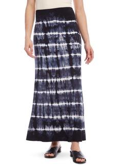 Karen Kane Tie-Dyed Pull-On Midi Skirt