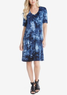 Karen Kane Tie-Dyed T-Shirtdress