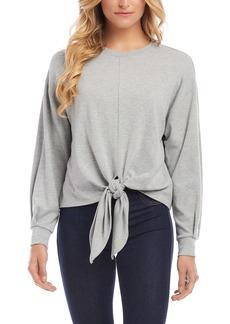 Karen Kane Tie Front Pullover
