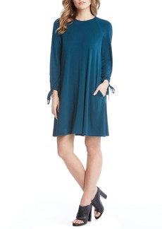 Karen Kane Tie Sleeve Shift Dress